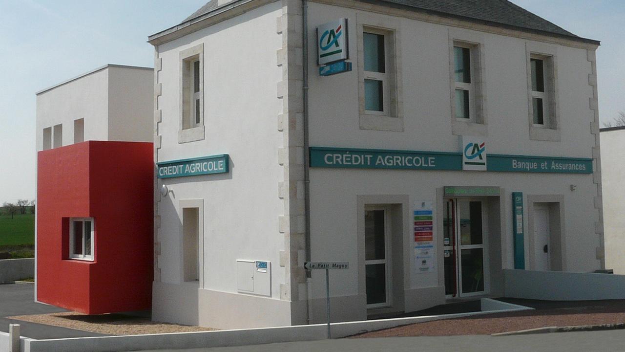 Construction de l'Agence Bancaire Crédit Agricole