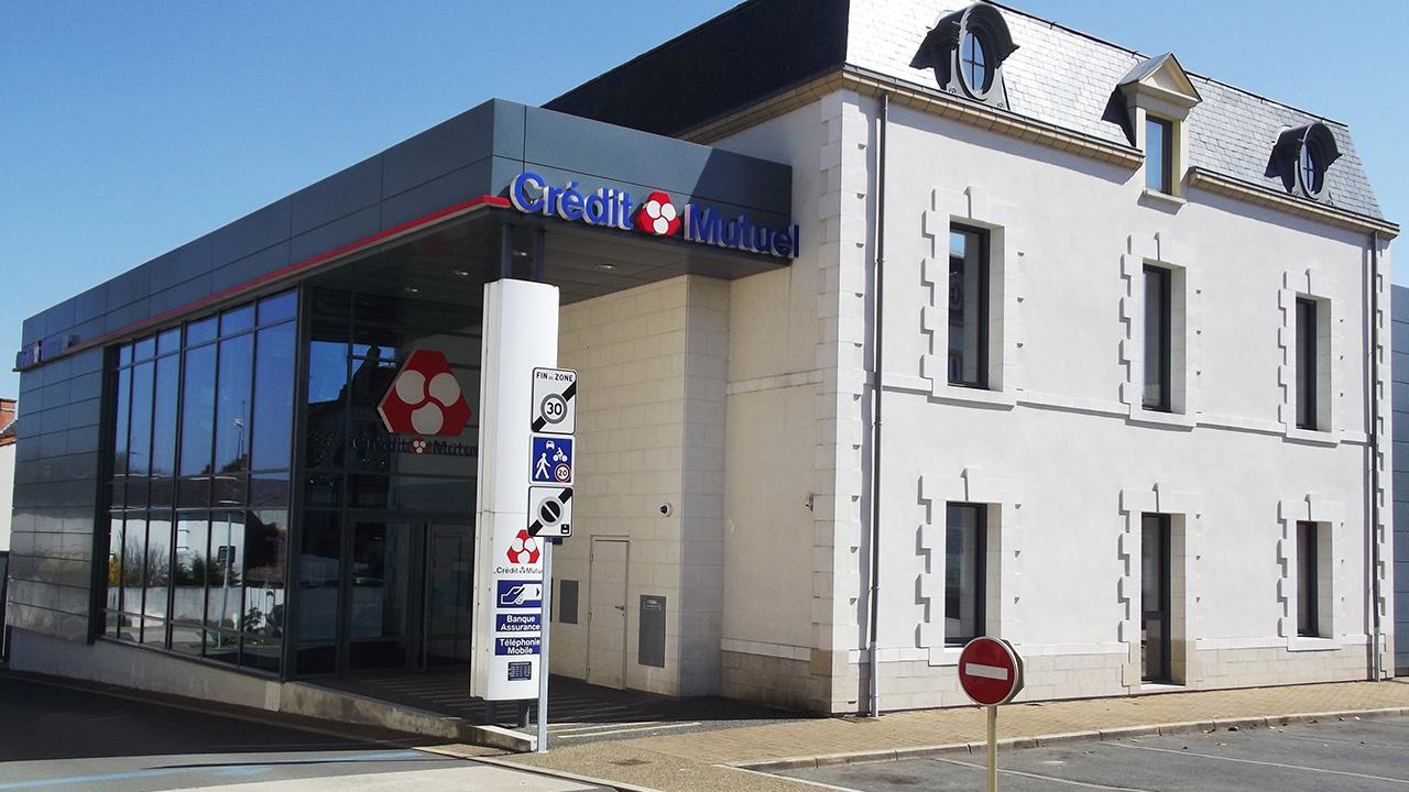 CONSTRUCTION D'UNE Agence Banquaire Crédit Mutuel Océan
