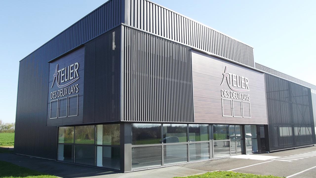 Construction d'un atelier de fabrication – ATELIER DES 2 LAYS