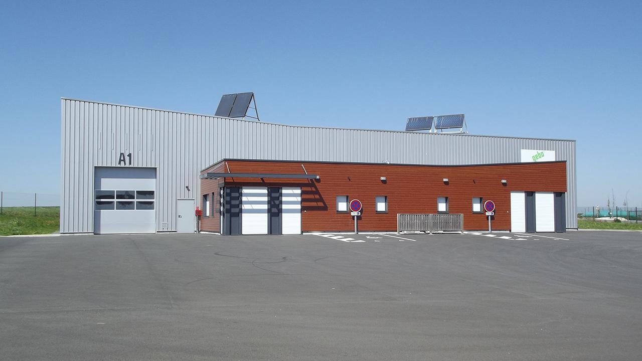 Construction d'ateliers relais