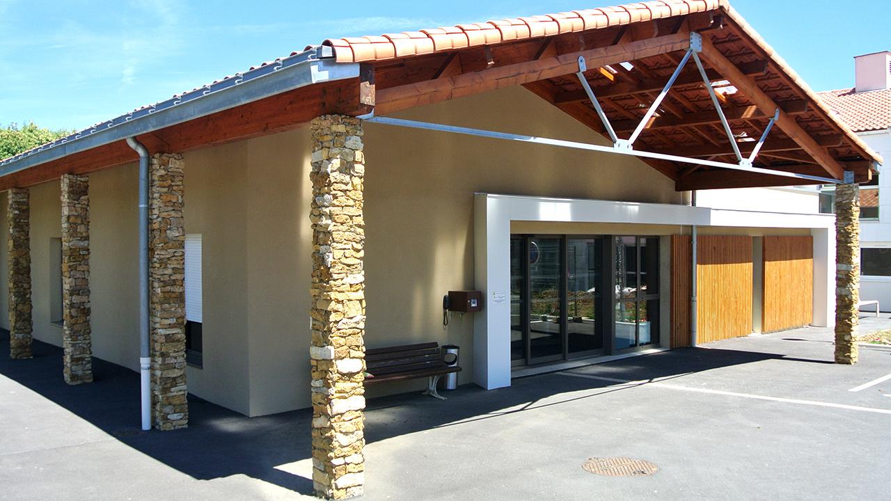 Extension et rénovation du foyer logement LES MARRONIERS