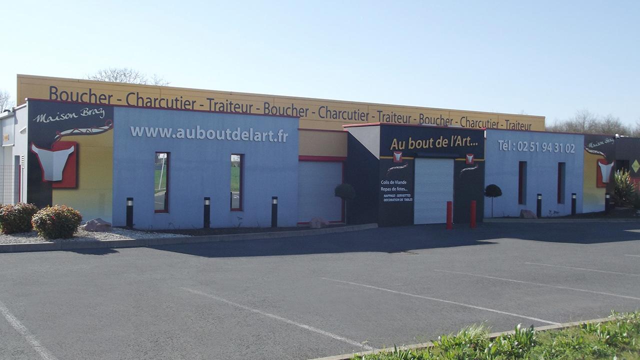 CONSTRUCTION D'UN LABORATOIRE DE BOUCHERIE