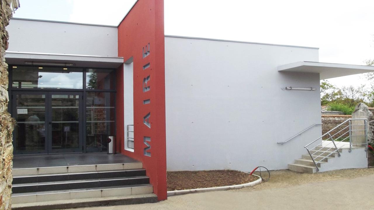 Extension et rénovation de la Mairie