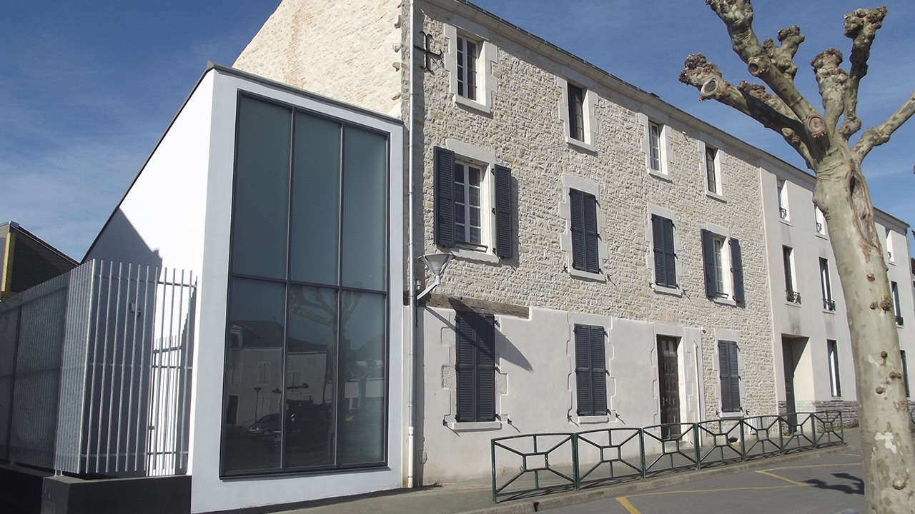 EXTENSION et réhabilitation d'un bâtiment