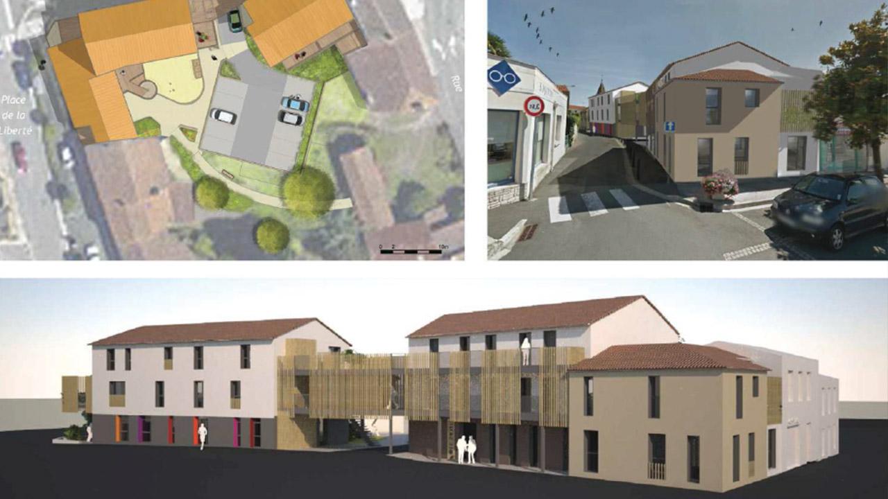 Construction de 12 Logements, de 2 micro-crèche et d'un pôle santé