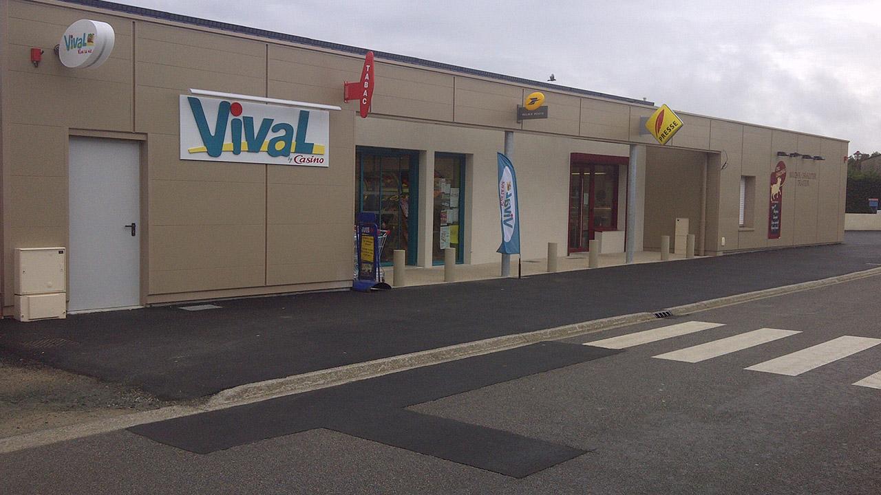 CONSTRUCTION D'UN Supermarché VIVAL
