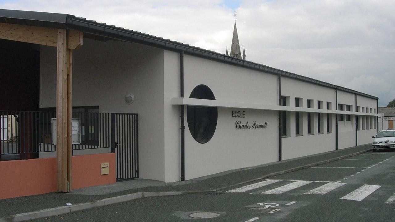 EXTENSION ET RéNOVATION école Publique Charles Perrault