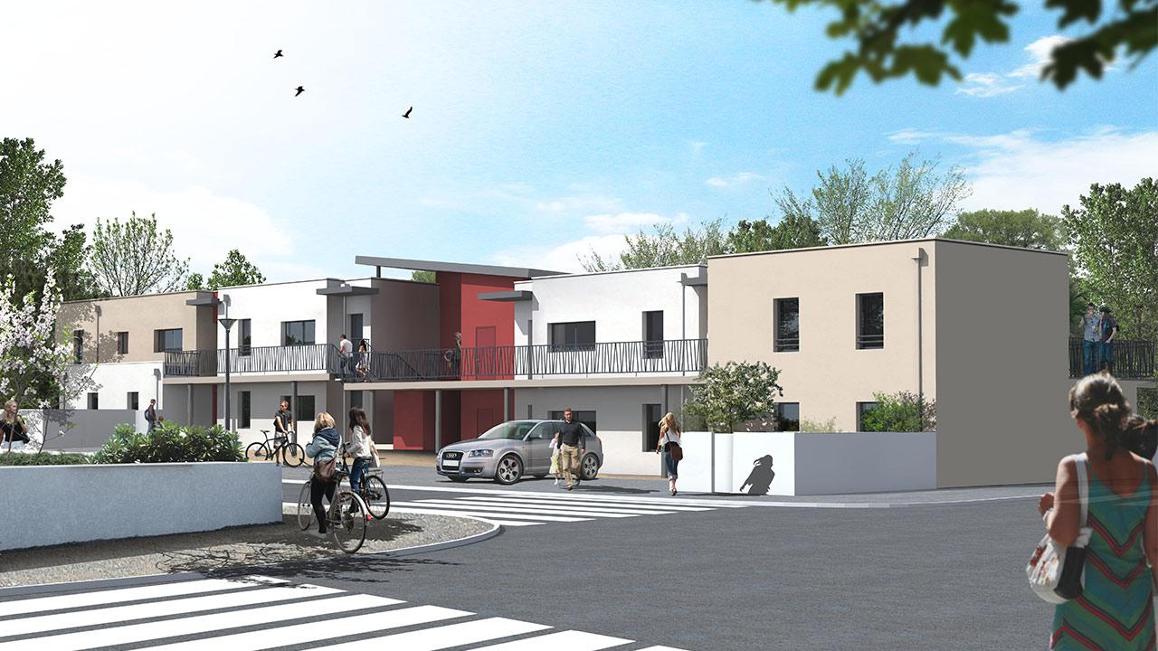 Construction de 8 Logements – LE FIEF de Bouales